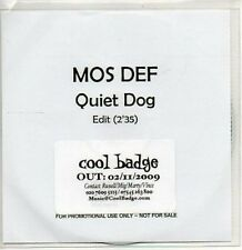 (978Z) Mos Def, Quiet Dog - DJ CD