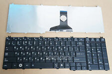 For Toshiba Satellite C650 C650D C655 C655D C660 C660D Keyboard Russian Black