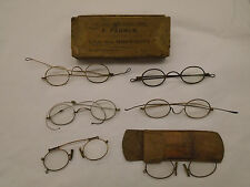 Collection Antique Georgian / Victorian Spectacles / Glasses / Pince Nez