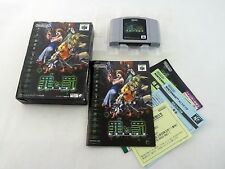 Complete Sin and Punishment Nintendo 64 Japanese Import Boxed N64 JP US Seller C
