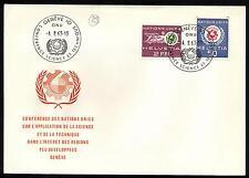 Svizzera - 1963 - Nazioni Unite - nn.434/435  - Busta FDC