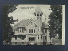 Edmeston New York NY High School Students Undivided Back Postcard c1905 Antique