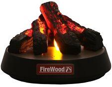 New FireWood Desktop Fire Place - Light illumination music speaker japan