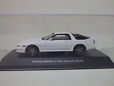 TOYOTA SUPRA 2.5 Twin Turbo R (JZA70)  White  1:43 Kyosho NEW