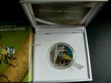 PALAU 2010 2$ DRAGONFLY, DRAGON FLY, WORLD OF INSECTS SILVER COIN