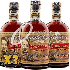 3 DON PAPA RUM AGED IN OAK PHILIPPINES INVECCHIATO 7 ANOS sin el caso 70CL 40%