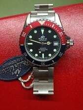 Philip Watch Caribbean 2000 vintage diver NOS quartz box uhr montre orologio
