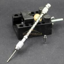 Semi-automatic Handdrill Suit Micro Hobby Craft Jewelry Wood Mini Hand Drill New