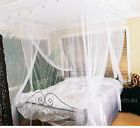 Deluxe Queen Size Box White Mosquito Net – Four poster bed look
