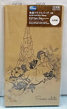 Disney Snow White Kraft Paper Bag  Made In Japan - Daiso