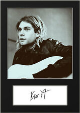 KURT COBAIN #5 Signed Photo Print A5 Mounted Photo Print - FREE DELIVERY