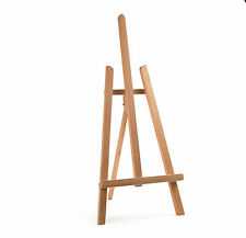 "BEECH WOOD 600MM 24"" 2ft ARTIST TABLE TOP DISPLAY ART EASEL CRAFT WEDDING WOODEN"