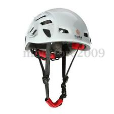 Safety Rock Climbing Downhill Caving Rappelling Rescue Helmet Protector White