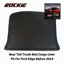 For Ford Edge 2007-2013 Replacement Rear Trunk Floor Mat Cover Carpeted Black