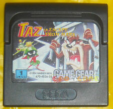 TAZ IN ESCAPE FROM MARS Game Gear Versione Europea »»»»» SOLO CARTUCCIA