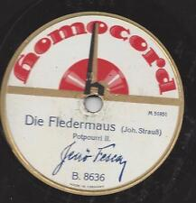 Orchester Jenö Fesca 1928 : Die Fledermaus, Potpourri