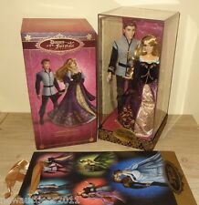 Disney Store Designer Doll Limited Edition Couple Aurora and Prince Philip