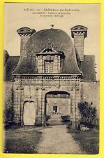 cpa LA CAMBE (Calvados) CHÂTEAU de JUCOVILLE La PORTE de l'HORLOGE