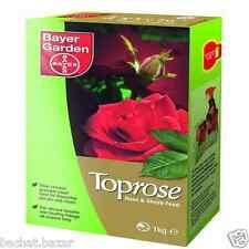 Bayer Garden Toprose Rose & Shrub Feed - 1kg Plant Food Fertiliser Vibrant Bloom
