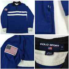 Polo Sport Ralph Lauren L/S Pullover Button Shirt Mens S Small Arctic Challenge