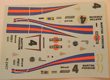 DECALC /STICKERS  SOLIDO PORSHE MARTINI LE MANS