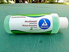 Alcohol-Free Mouthwash By Dynarex 4.oz. Mint Flavored Travel Size 1-Bottle