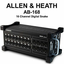 ALLEN & HEATH AB-168 16CH RACKMOUNT CAT5 ETHERNET DIGITAL SNAKE $50 INSTANT OFF