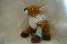 WEBKINZ  DEER - NEW W/ SEALED CODE -HARD TO FIND-FREE SHIPPING