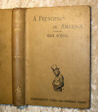 O`Rell, Max-A FRENCHMAN IN AMERICA-Bristol 1891-with upwards of 130 Illustration