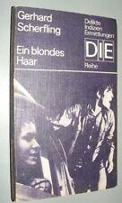 DIE- Reihe Gerhard SCHERFLING Ein blondes Haar 1976