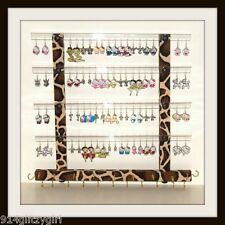 """TEEN"" GG Earring Holder & Jewelry Organizer GIRAFFE Animal Print Fabric ""Sale"""