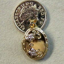 9 ct GOLD second hand fancy locket