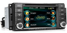 2007-2017 Jeep Wrangler In-Dash GPS Navigation DVD Bluetooth Radio USB SD Deck