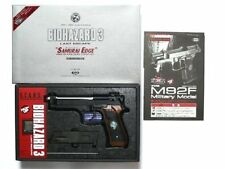 Tokyo Marui Model Gas Gun Biohazard Movie M92F Samurai Edge Limited Edition Mint