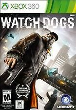 Watch Dogs BOTH DISCS GAME Microsoft Xbox 360 WD WATCHDOGS