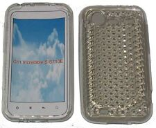 Per HTC Incredible S G11 S710E PATTERN Gel Custodia Protettiva Cover Chiara Nuovo Regno Unito