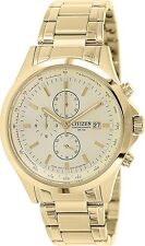 Citizen Men's Classic AN3512-54P Gold Stainless-Steel Quartz Watch
