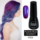 MAX 7ml Nail Art Color UV LED Lamp Soak Off Gel Polish #006-Purple Blue Gradient