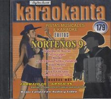 Pesado Palomo Arjona Intocable Carlos Y Jose  Nortenos 9 Karaoke New SEALED