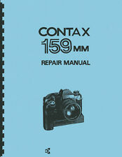 Contax 159MM (Yashica/Kyocera) Camera Service & Repair Manual
