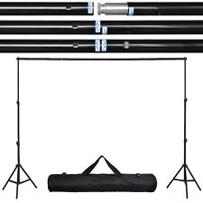 10Ft Adjustable Photography Background Support Stand Photo Backdrop Crossba