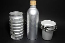 NEW! SWISS VOLCANO CANTEEN COOKER NEW 3 Piece Set Aluminum Worldwide