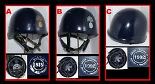 D- 1 (Eins) x Französische Gendarmerie Stahlhelm / Old stock French MP F1 helmet