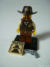 LEGO SÉRIE 13 / Collectable Minifigures 71008-2 Sheriff [ Neuf ]