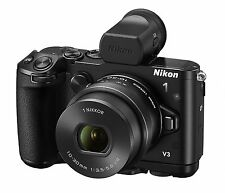 Nikon 1 V3 Camera Premium Kit 10-30mm Lens + Viewfinder + Grip *Free Shipping*