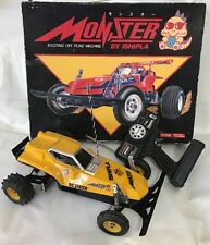 Vintage 1/10 Scale Monster Ishipla Off Road Buggy Rc Car New Build With Box Ayk