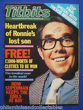 Titbits Magazine - Ronnie Corbett, Christopher Reeve   9th May 81