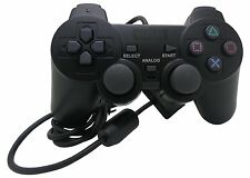 NEXiLUX Ps2 Game Controller For Sony Playstation 2 & Ps1 Psone Black (BRAND NEW)