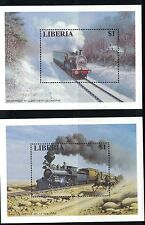 Liberia 1194-1199 Locomotives MNH 1996