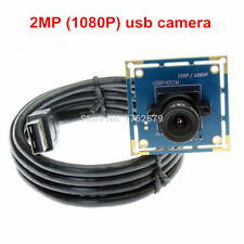 USB UVC Black White Monochrome Camera Module 1080P 2MP CCTV PCB Board 2.1mm Lens